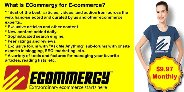 ECommergy Learning How to Sell Online