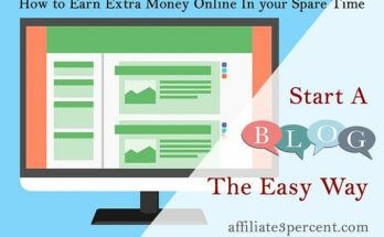 how to earn extra money start blogging the easy way