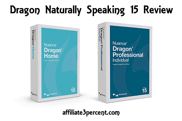 Nuance Dragon Naturally Speaking 15 Review