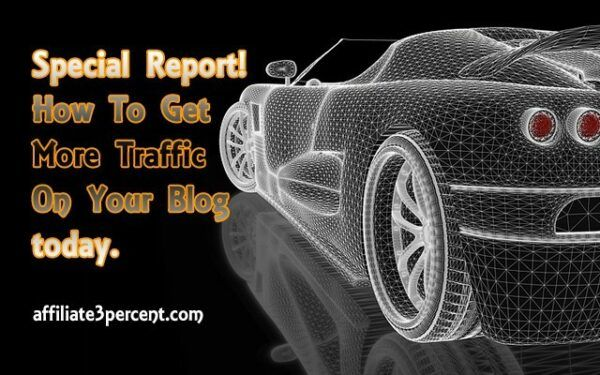 Special Report: How to get more traffic on your blog