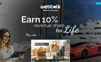 Earn from network and marketing task Webtalk.co Review
