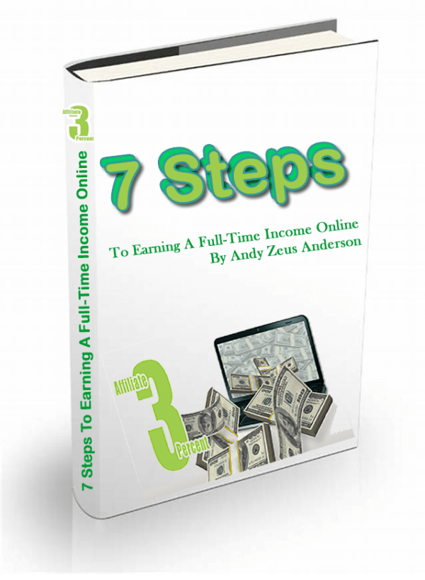 7 steps to earning a full-time income online