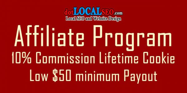 local seo affiliate program from dotLocal SEO of Yuma Arizona USA